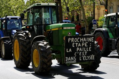 Manifestations agricoles en France